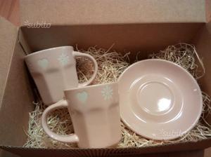 Set tazze caffe porcellana