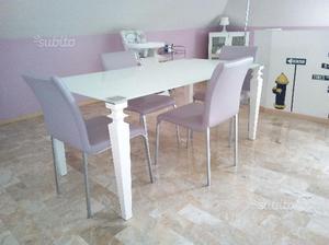 Tavolo ulivo completo di sedie posot class - Mobilificio settimo torinese ...