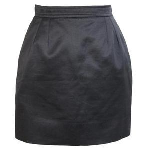 yves saint laurent rive gauce black skirt