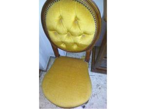 Coppia di sedie da salotto