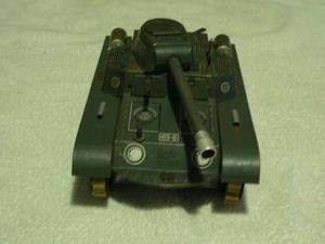 Giocatollo latta d'epoca Gescha tank carro armato