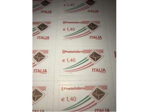 Lotto francobolli poste italiane