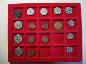 Lotto nr.16 monete Americane USA Stati Uniti dollar, cent,