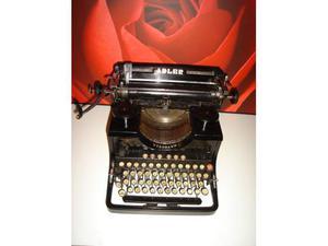 Macchina da scrivere adler standard con secondo carrello
