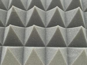 10mq Pannelli Piramidali fonoassorbenti 100x100x5