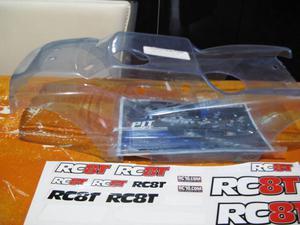 Carrozzeria per truggy Team Associated Rc8T