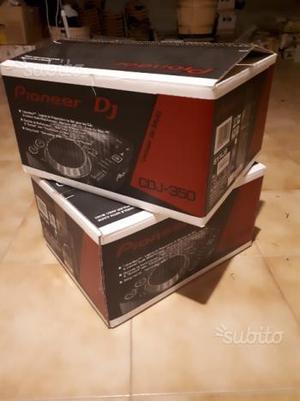 Coppia Cdj 350 pioneer con scatola + flight case