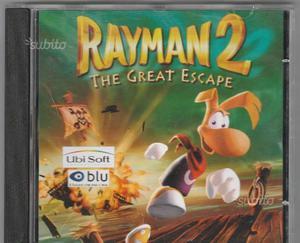Gioco videogame RAYMAN 2