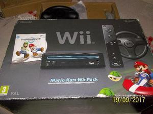 Nintendo wii mario kart wii pack con volante gioco