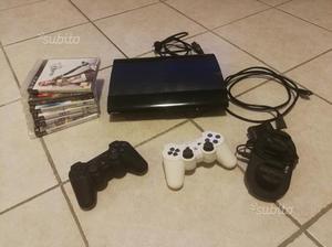Ps3 + 2 controller con caricabatterie + 6 giochi