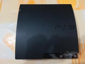 Ps3 slim 250 gb +2controller+giochi