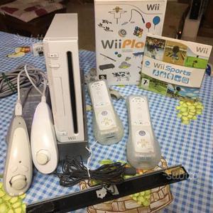 Wii bianca lotto accessori e giochi