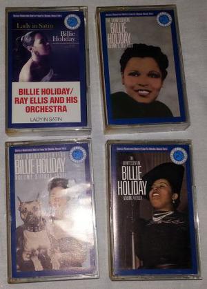 Billie Holiday - lotto 4 musicassette