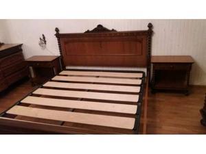 Camera matrimoniale in noce completa