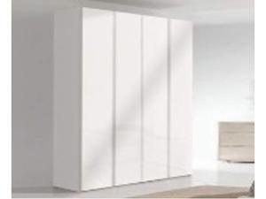 GIESSEGI Camera da letto in legno bianco laccato