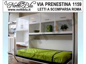 Letti a Scomparsa _ Letto Singolo VE334 Via PRENESTINA