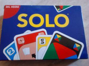 """Mazzo di carte per gioco """" SOLO """" della DAl Negro"""