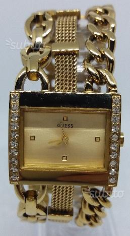 Orologio donna Guess originale, acciaio dorato