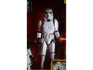 Star wars action figure stormtrooper delux edition