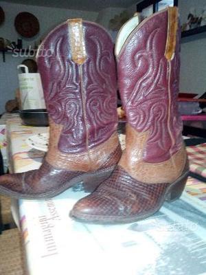 Stivali in pelle originali messicani
