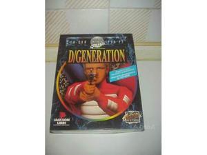 Degeneration videogioco pc cd rom vintage videogame game
