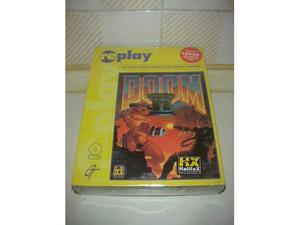 Doom 2 videogioco gioco pc cd rom videogame computer vintage
