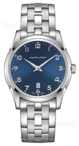 HAMILTON Jazzmaster Thinline Quartz orologio uomo