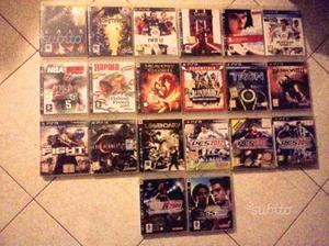 Lotto 20 Giochi Originali PS3