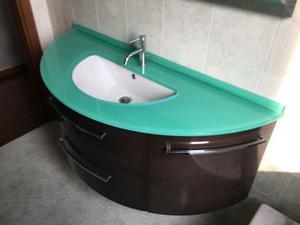 Mobile del bagno in wengè