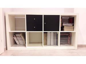 Vendo mobile expedit marrone nero posot class for Scaffale libreria ikea