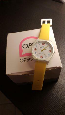 Orologio da polso OPS! Giallo Nuovo, mai usato