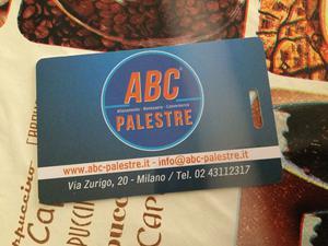Vendo 2 abbonamenti ABC palestre