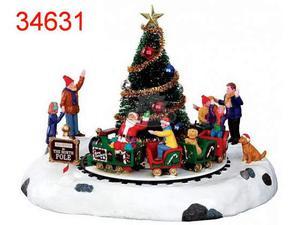 Lemax # Il trenino di Babbo Natale