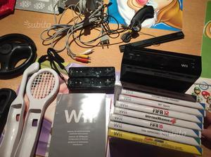 Nintendo Wii completa di accessori e giochi
