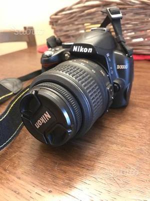 Reflex Nikon D + custodia + micro Sd