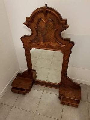 Specchiera Antica in legno massello