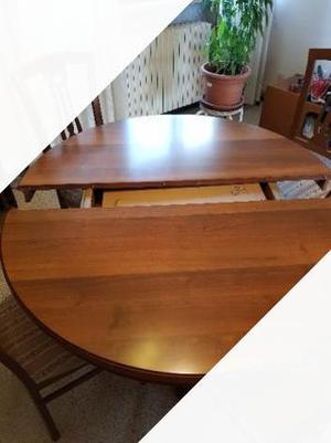 Tavolo allungabile 4 metri posot class - Tavolo rotondo allungabile legno ...