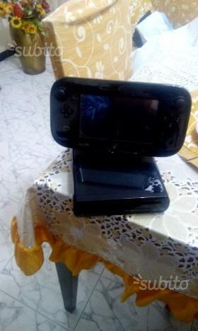 Wii u con accessori e giochi