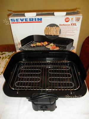 Barbecue elettrico XXL, griglia 41 x 26 cm, W