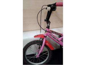 Bici rosa SILVER STAR BMX ruote da 16