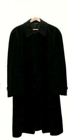 Cappotto uomo in pura lana vergine colore blu, originale
