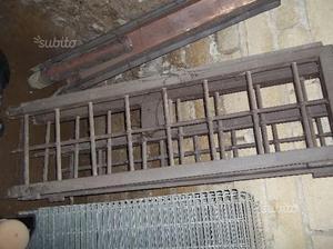 Grata in ferro con finestra 3 ante posot class for Finestra usata per ventilazione