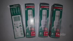 Lampadine Sylvania 9W luce fredda nuove e27