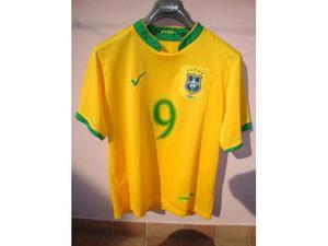 Maglia Calcio Brasile n° 9 nuova mai usata