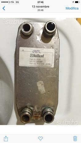 Scambiatore caldaia Vaillant