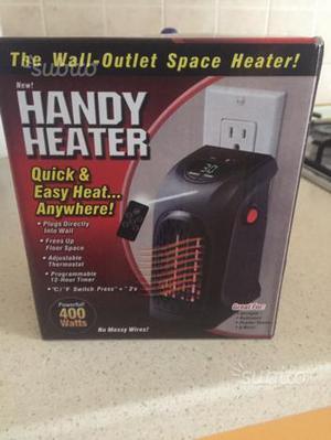 Vendo termoconvettore stufa elettrica split posot class for Stufa elettrica handy heater opinioni