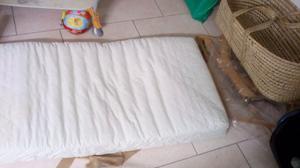materasso per bambini anti acaro lun 165 lar 62. vendo 10