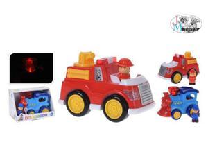 Baby veicoli c/personaggi l/s ass.