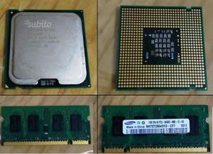 CPU Intel Celeron ghz + SODIMM RAM 1GB