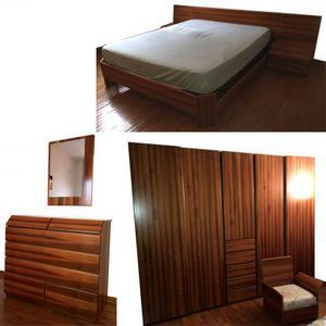 Camera da letto noce nazionale massello posot class - Vendo camera da letto completa ...